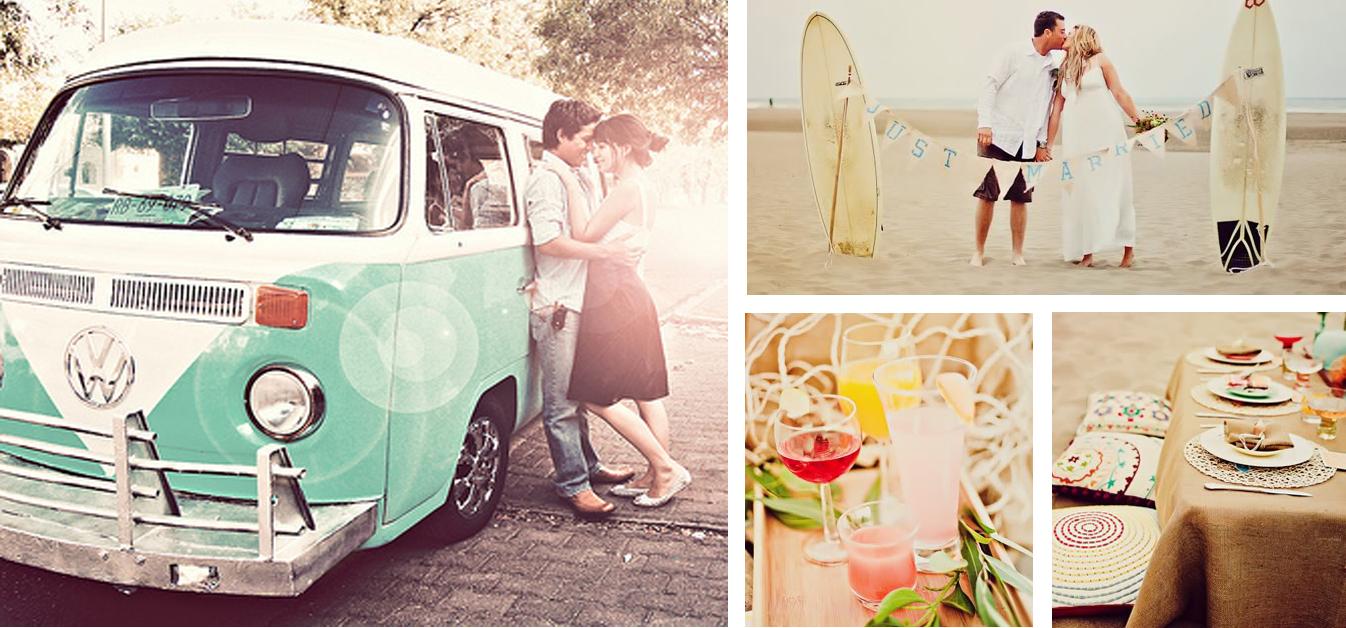 Un color o un grupo de colores pueden ser protagonistas de una boda. Desde la decoración, hasta las invitaciones o los detalles del catering pueden tener un