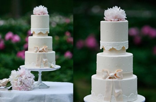 romantic-elegant-wedding-cake-bow-lace-applique.full